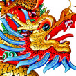 Smile of dragon status — 图库照片 #11566731