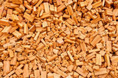 The Heap of brickwall background — Stockfoto