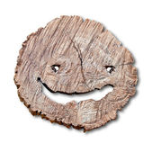 The Smile of stump isolated on white background — Stock Photo
