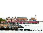 The Joss house on the sea — Stock Photo