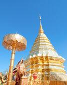 Wat phra thart doisuthep,chiengmai province,Thailand — Stock Photo