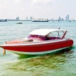 The Red speedboat — Stock Photo #11694150