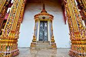 The Door of temple — Stock Photo