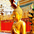 The Buddha status at wat phra thart doisuthep,chiengmai province,Thailand - 