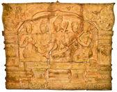 系 deva 地位的雕刻砂岩 — 图库照片