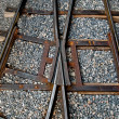 View of railway track — Stockfoto #12095266