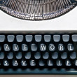 Typewriter — Stock Photo #12181396