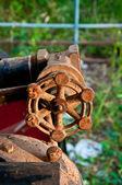 винтаж клапан нефти — Стоковое фото