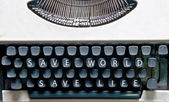 The Typewriter — Stock Photo