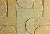 A textura de cerâmica — Foto Stock