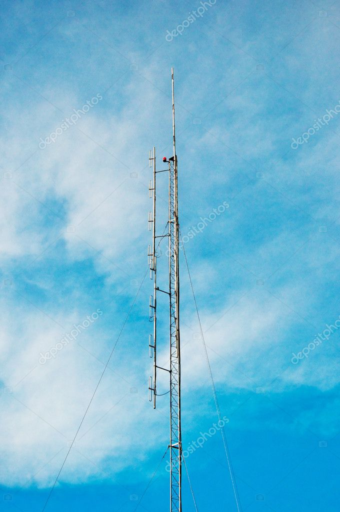 The Antenna radio — Stock Photo #12180490