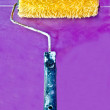The Paint roller — Stock Photo