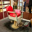 The Old chair of barber shop — Stock Photo #12197286