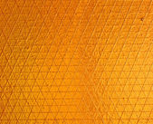Golden odrážejí list texturu — Stock fotografie