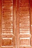 The Vintage wooden door — Stock Photo