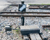 The Box light of railway track — Stock Photo