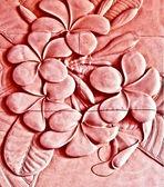 Sandsten texturen av frangipan blomma — Stockfoto
