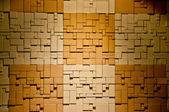 De bakstenen muur textuur met lichte plek — Stockfoto