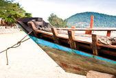 Fishing boat Header — Stock Photo
