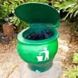 Green bins. — Stock Photo #11383928