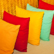 Multi-colored pillows. — Stock Photo #11789146