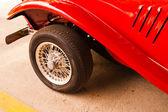 Lato delle auto d'epoca. — Foto Stock