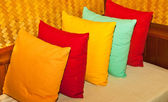 Multi-colored pillows. — Stock Photo