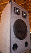 Speaker cabinet — Stock Photo