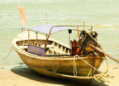 Local fishing boats. — Stock Photo