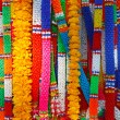 Thai style fake flower garland - Foto de Stock