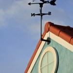 Cupid on weathervane — Stock Photo