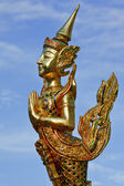 Native Thai style angle statue — Stock Photo