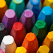 Stack of oil pastels — Stock Photo #11407652