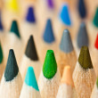 Stock Photo: Color pencils macro shot