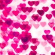 Colorful heart shape background — Stock Photo #11427630