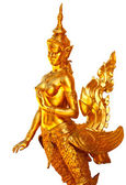 Native Thai style angel statue — Stock Photo