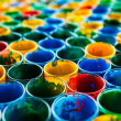 Stock Photo: Colorful glass background