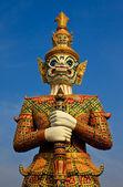 Statua gigante nativo stile thai — Foto Stock
