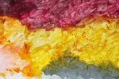 Textuur van kleurrijke betonnen wand — Stockfoto