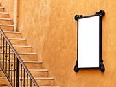 墙上的公告板 — 图库照片