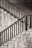 Old metal staircase — Stock Photo