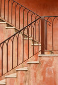 Ole stil treppe — Stockfoto