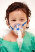 Baby in hospital — Stock Photo
