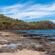 Rocky coast of papagayo golf — Stock Photo