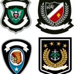 Emblem badge design — Stock Vector #10856353