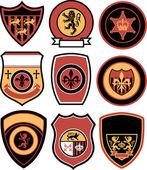Classic emblem badge design — Stock Vector
