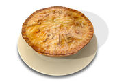 Humble Pie — Stock Photo