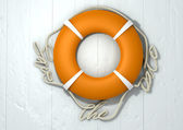 Save The Date Lifebuoy — Stock Photo