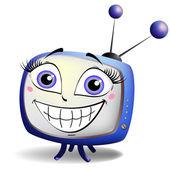 Lächeln-tv — Stockvektor