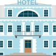 Royalty-Free Stock Vector Image: Small Hotel